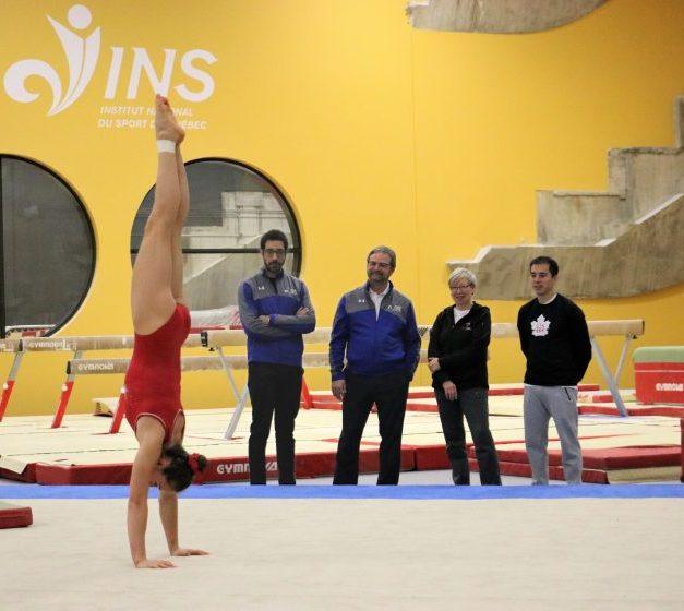 Gymnastique Canada choisit l'INS Québec