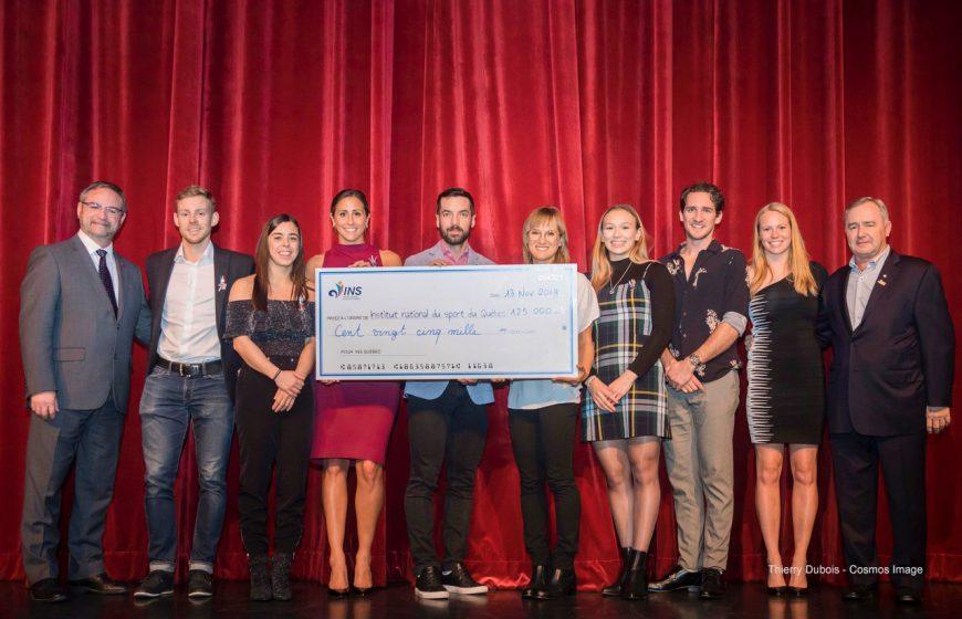 125 000$ versés au Fonds d'Excellence de l'INS Québec