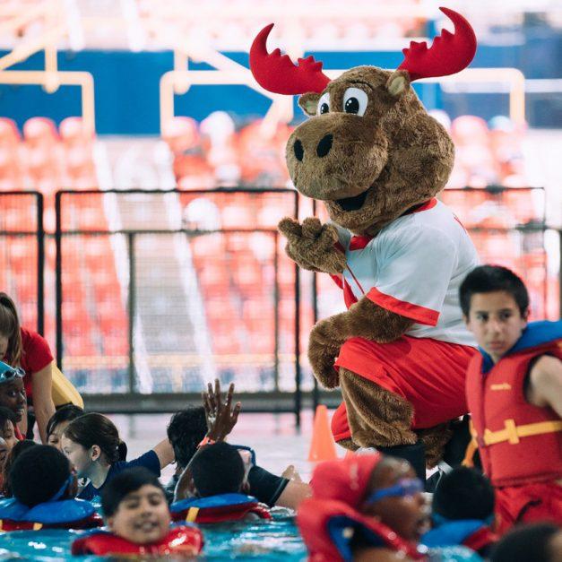 Journée olympique à l'INS Québec : Transmettre le goût de bouger aux élèves