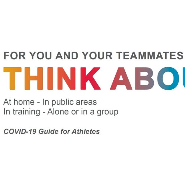 COVID-19 Guide for Athletes: For You and Your Teammates, Think About It!
