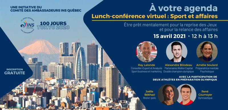 Lunch-conférence virtuel : Sport et affaires