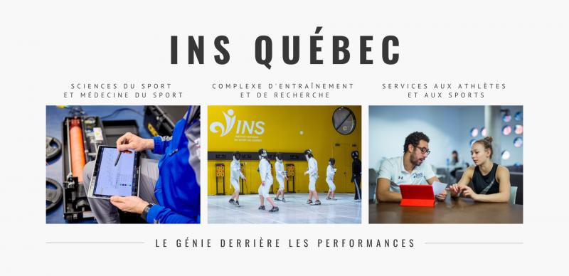 L'INS Québec a accompagné 80 % des athlètes du Québec à Tokyo