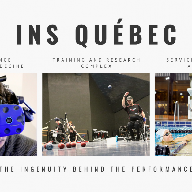 Tokyo Paralympics Games – Almost all Québec athletes were supported by INS Québec